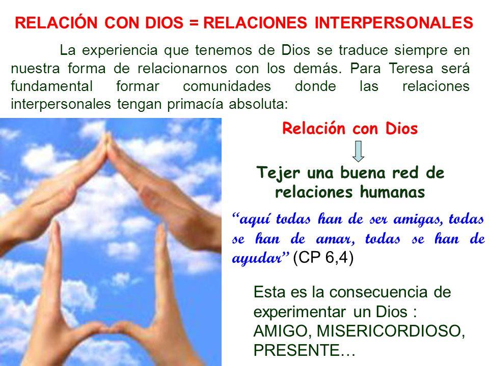 Tejer una buena red de relaciones humanas