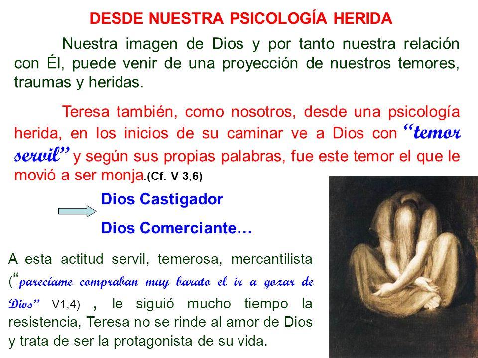DESDE NUESTRA PSICOLOGÍA HERIDA