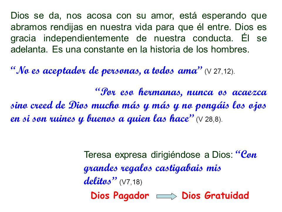 No es aceptador de personas, a todos ama (V 27,12).