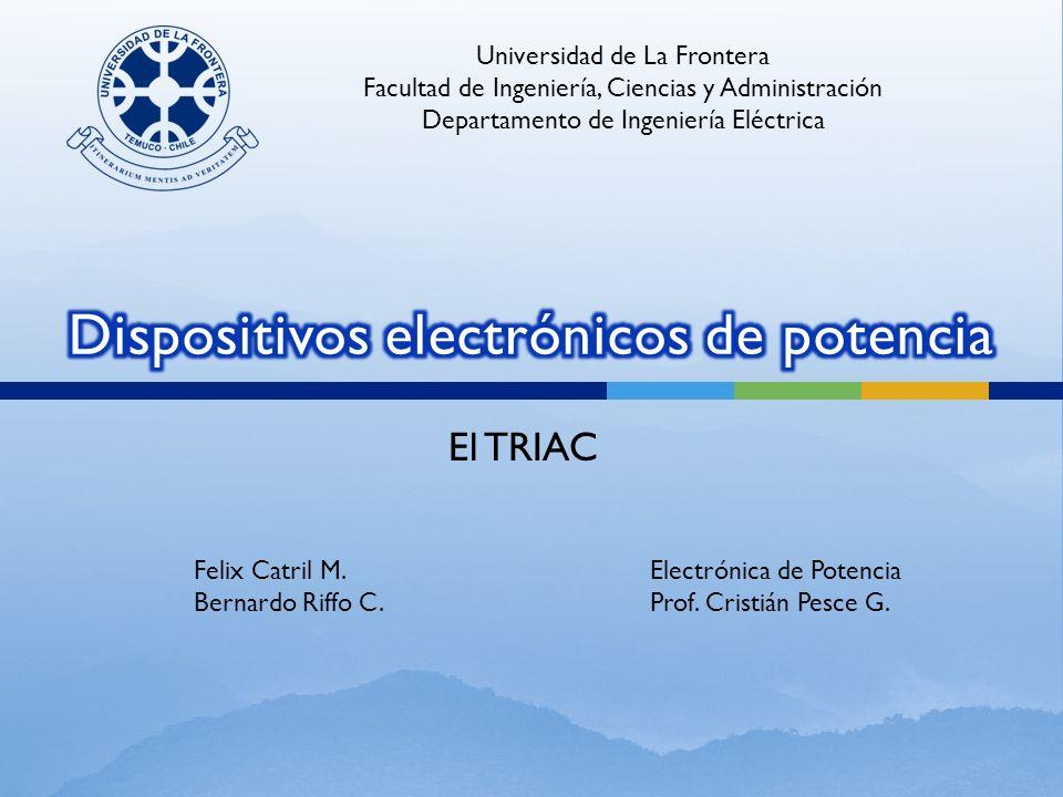 Dispositivos electrónicos de potencia
