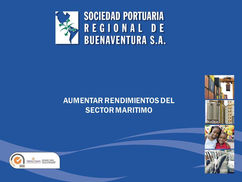AUMENTAR RENDIMIENTOS DEL SECTOR MARITIMO