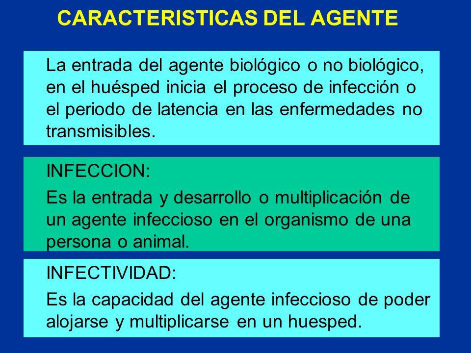 CARACTERISTICAS DEL AGENTE