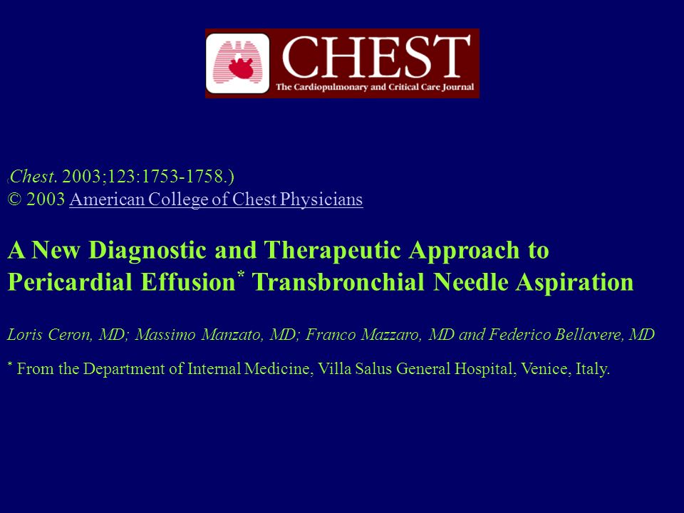 (Chest. 2003;123:1753-1758.) © 2003 American College of Chest Physicians