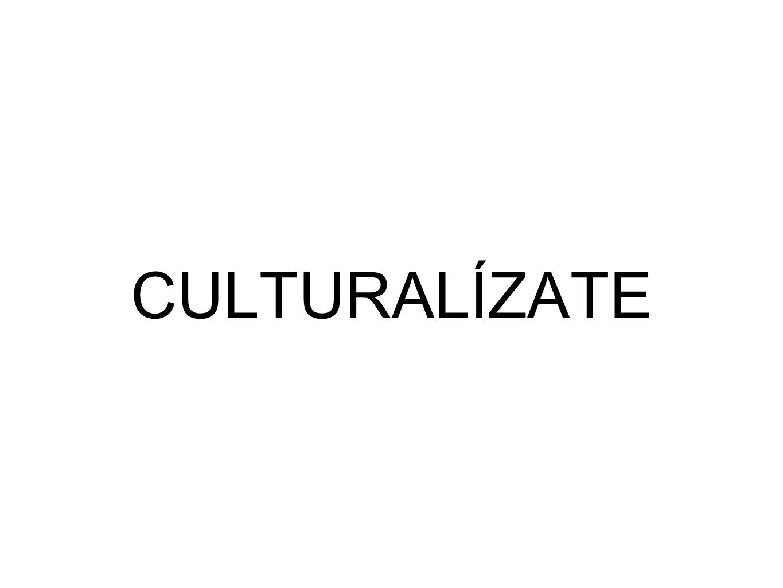 CULTURALÍZATE