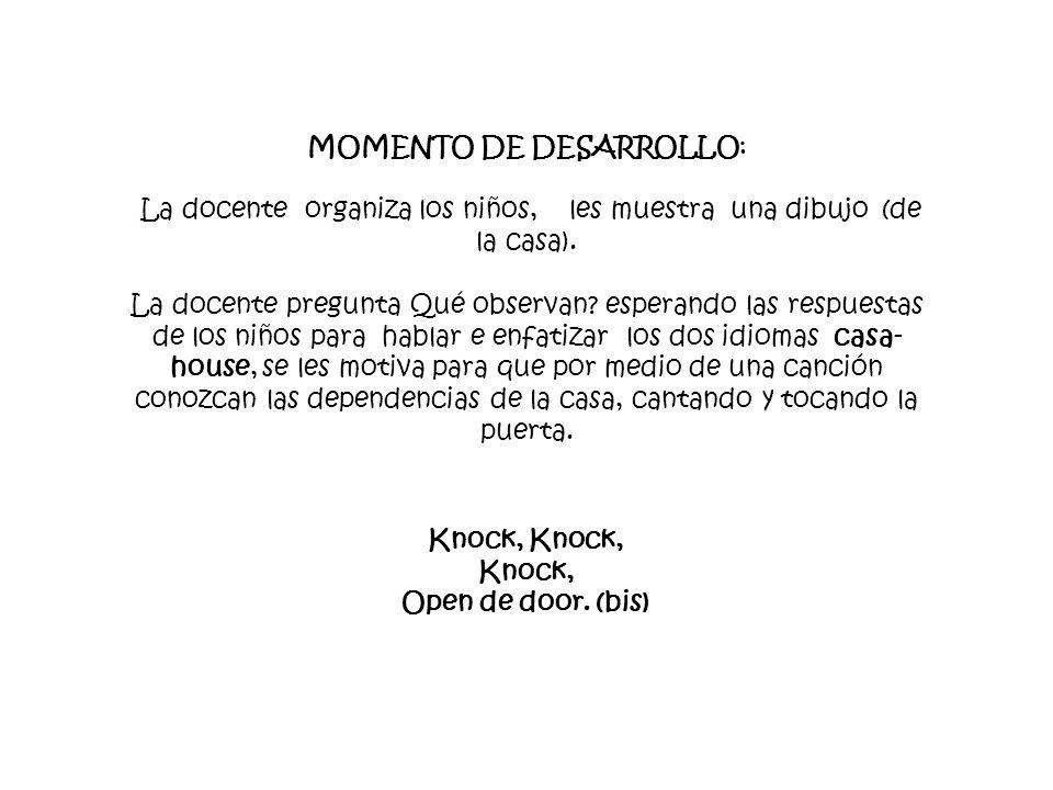 Knock, Knock, Knock, Open de door. (bis)