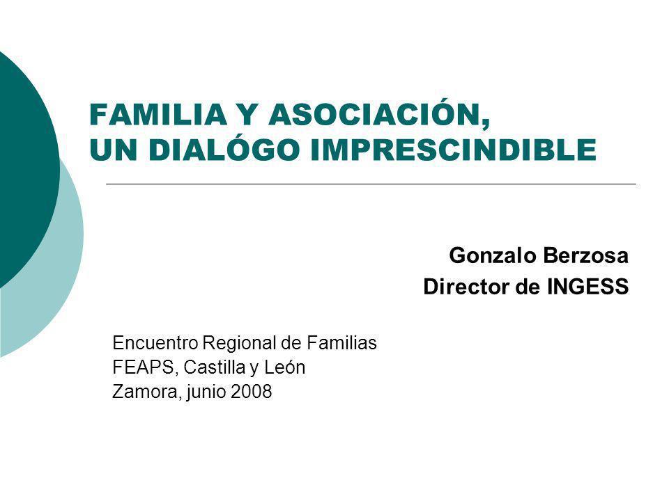 FAMILIA Y ASOCIACIÓN, UN DIALÓGO IMPRESCINDIBLE