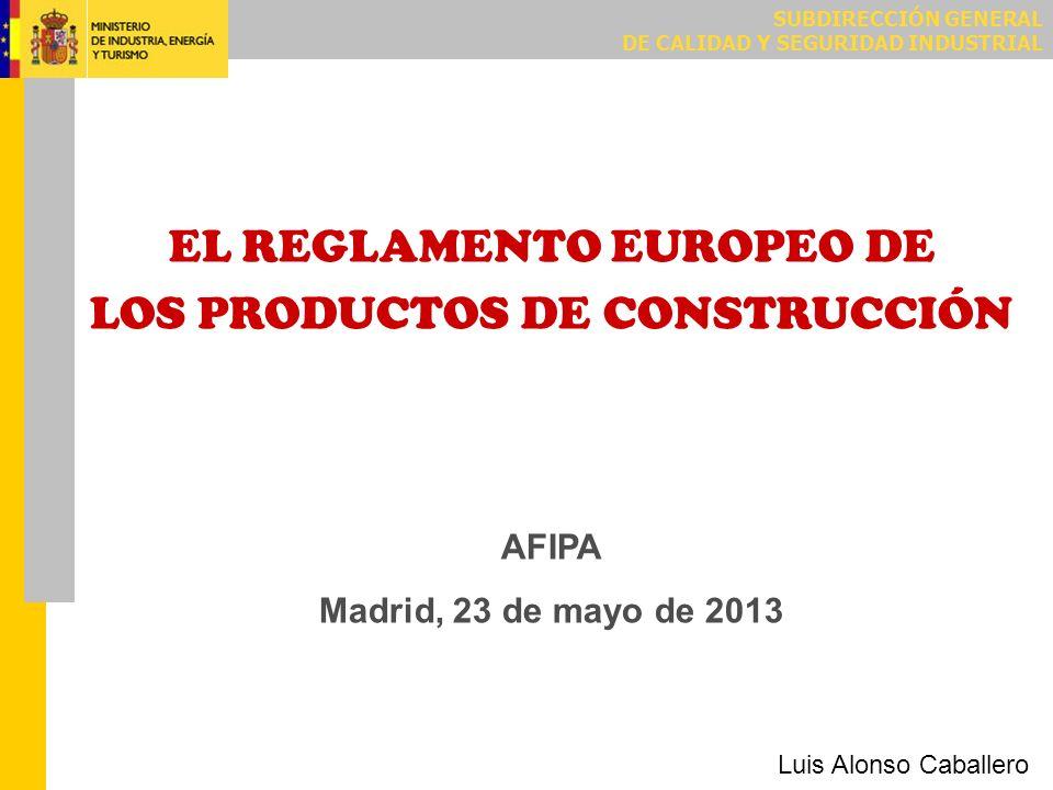 El Reglamento entró en vigor el 24 de abril de 2011 (a los veinte días de su publicación en el Diario Oficial de la Unión Europea).