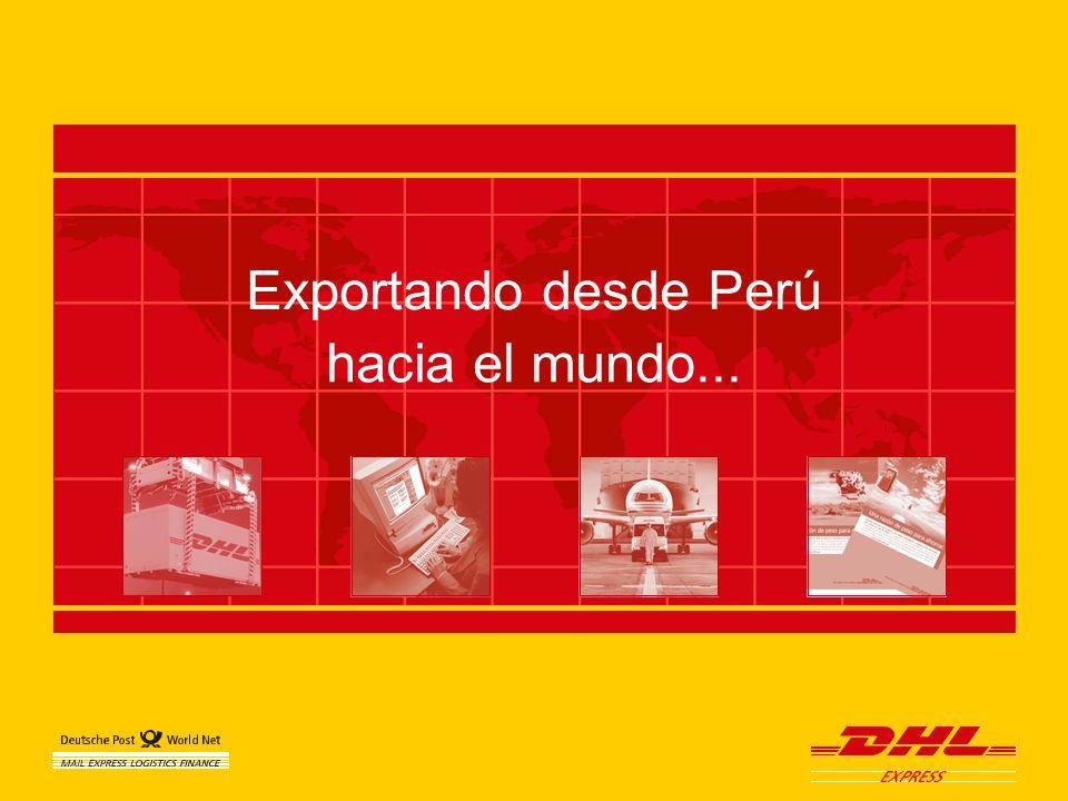d Exportando desde Perú hacia el mundo...