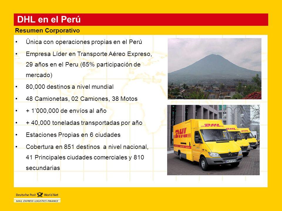 DHL en el Perú Resumen Corporativo