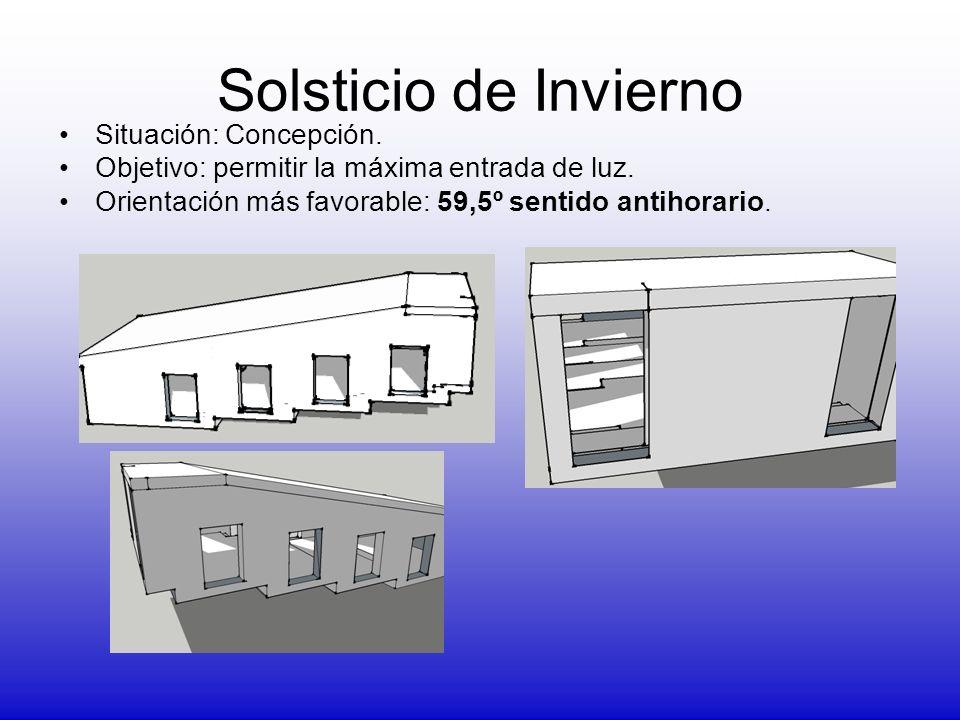 Solsticio de Invierno Situación: Concepción.