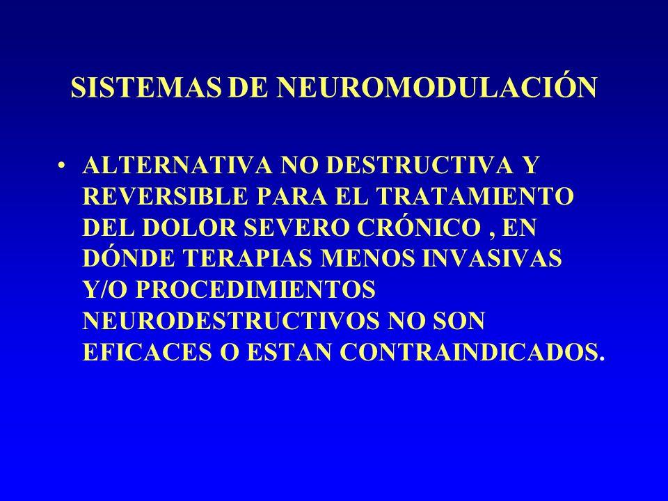 SISTEMAS DE NEUROMODULACIÓN