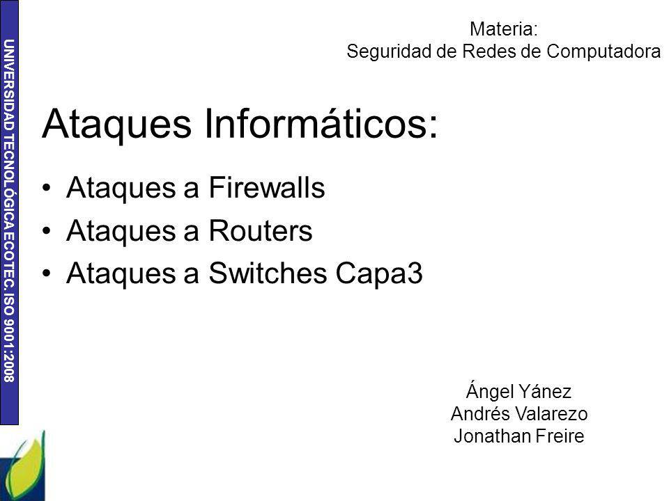 Ataques Informáticos: