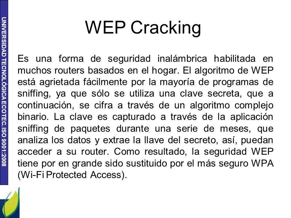 WEP Cracking