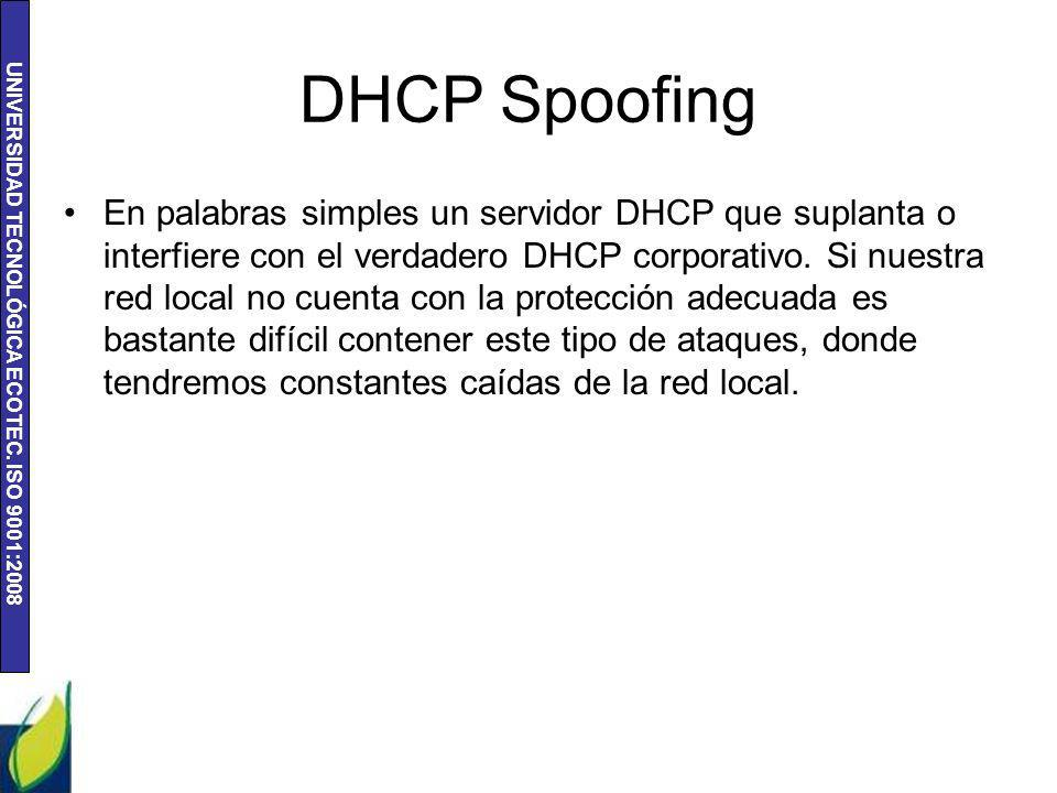 DHCP Spoofing