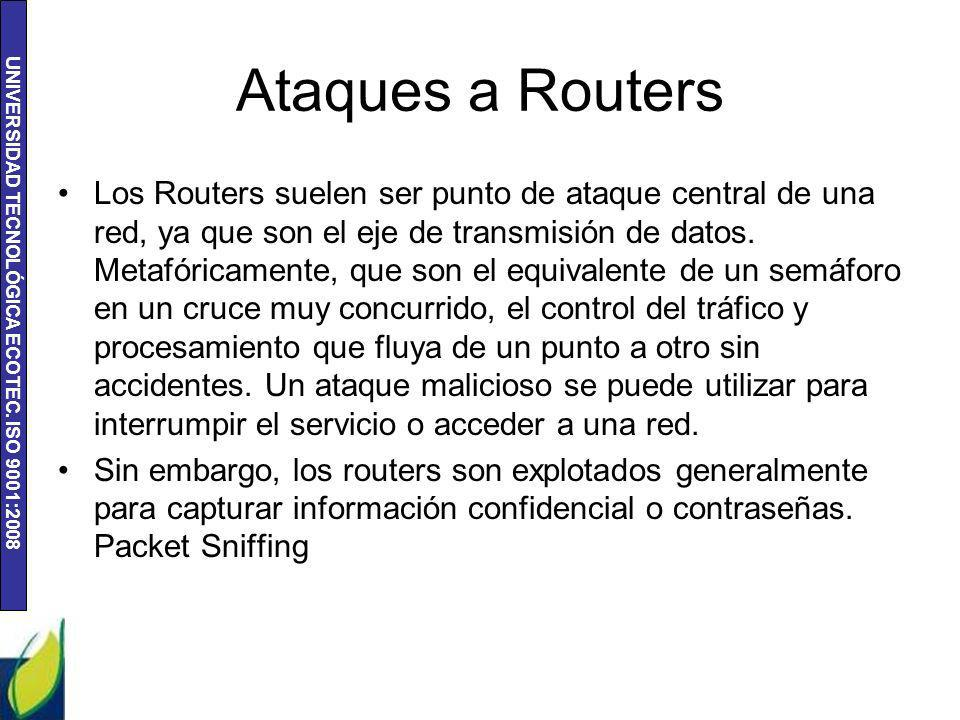 Ataques a Routers