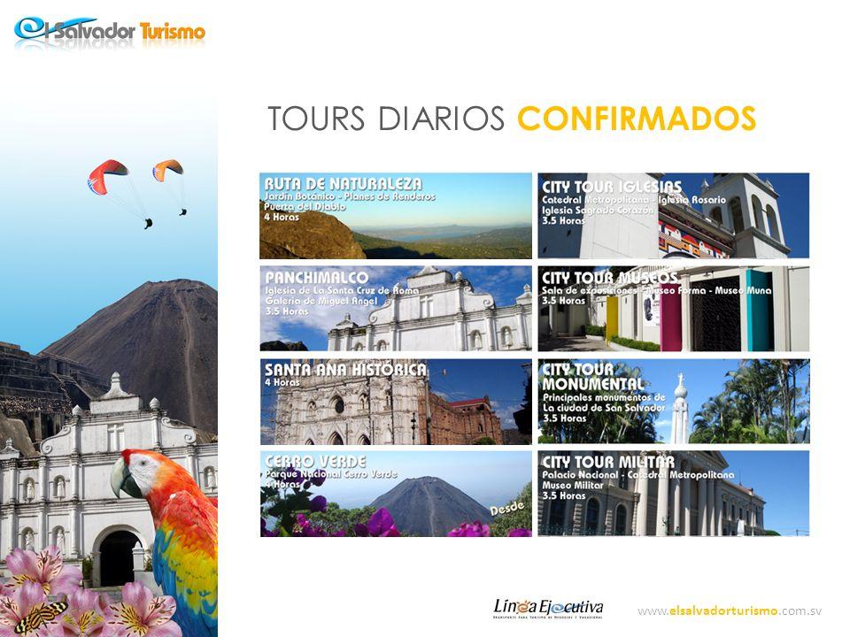 TOURS DIARIOS CONFIRMADOS