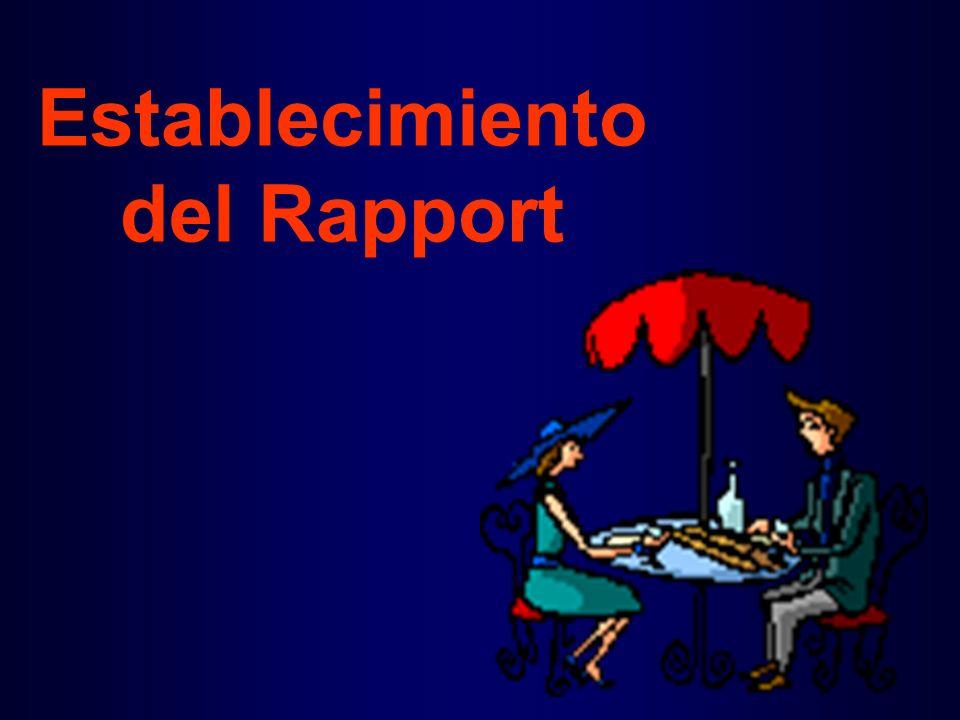 Establecimiento del Rapport