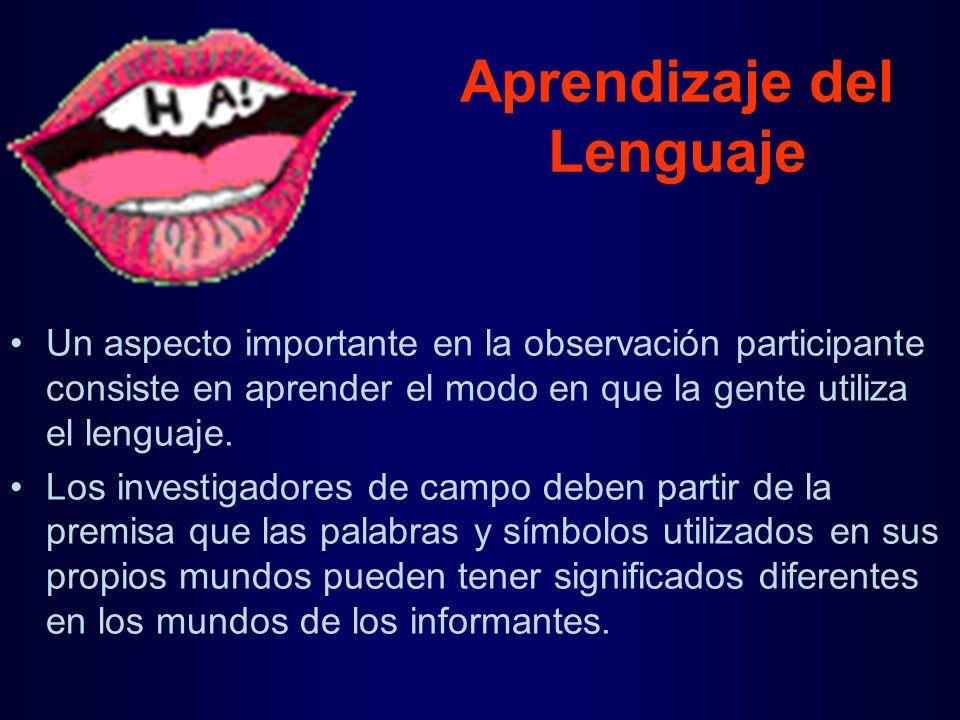 Aprendizaje del Lenguaje