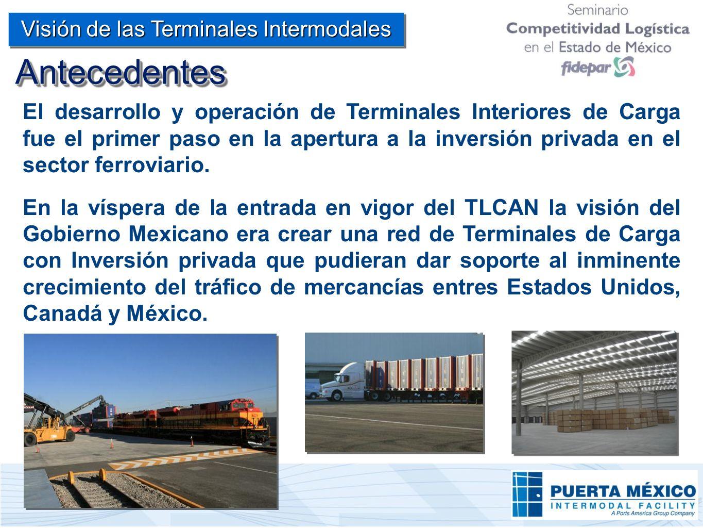Visión de las Terminales Intermodales