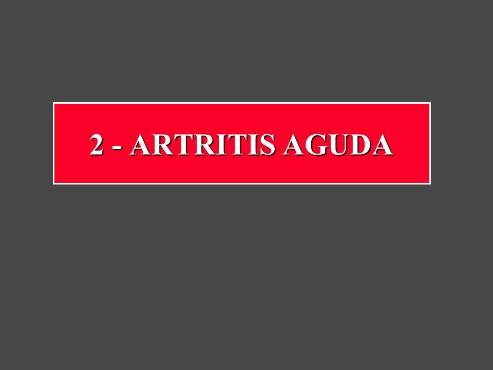 2 - ARTRITIS AGUDA
