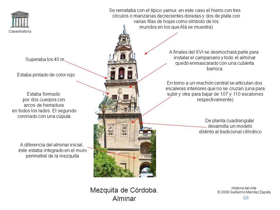 Mezquita de Córdoba. Alminar
