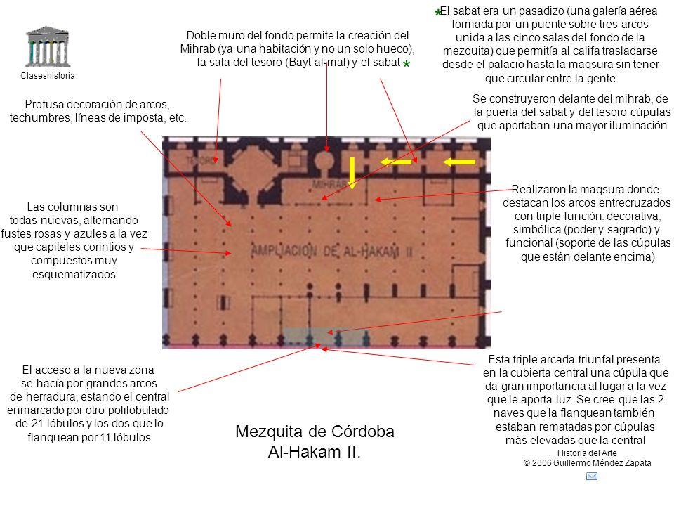* * Mezquita de Córdoba Al-Hakam II.