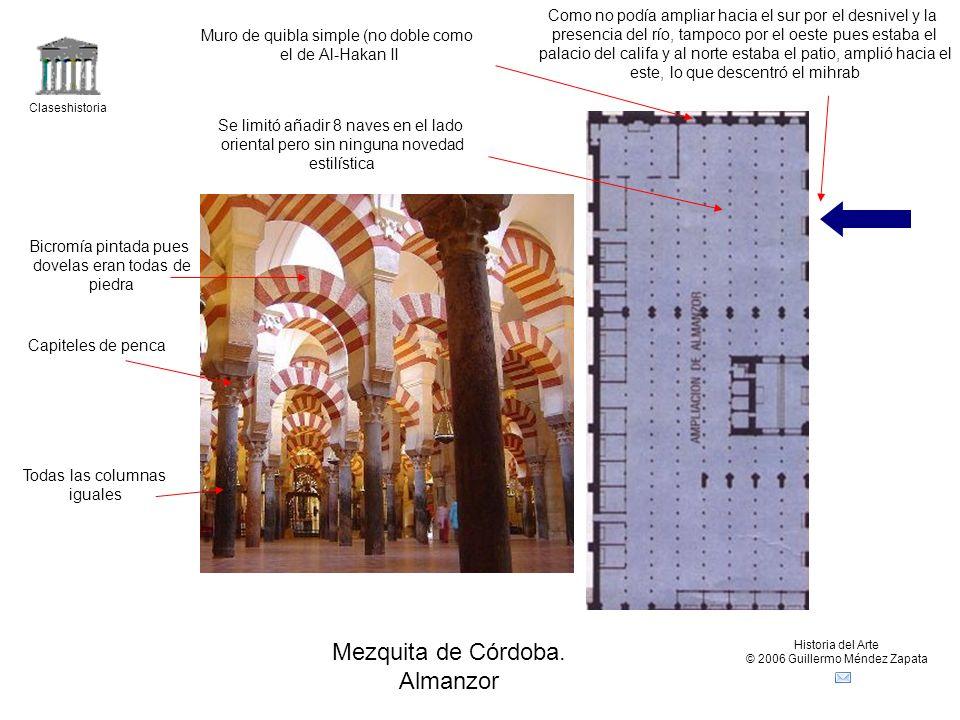 Mezquita de Córdoba. Almanzor