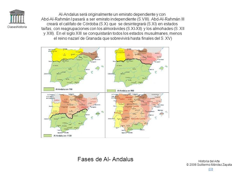 Al-Andalus será originalmente un emirato dependiente y con