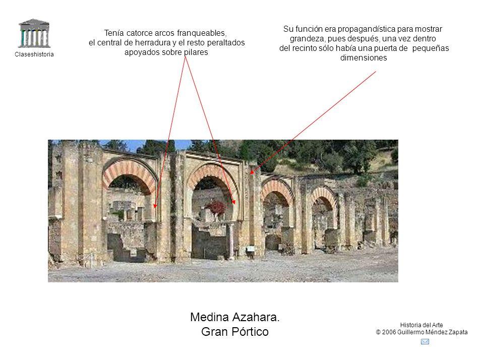 Medina Azahara. Gran Pórtico