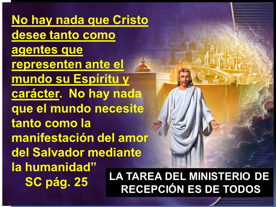 LA TAREA DEL MINISTERIO DE