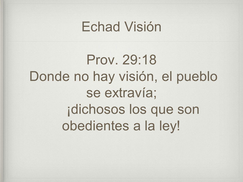 Echad Visión Prov.