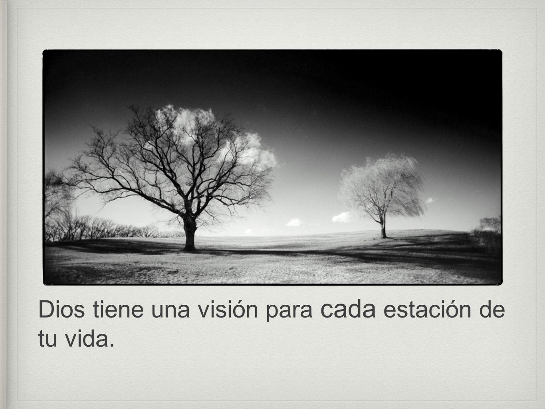 Dios tiene una visión para cada estación de tu vida.
