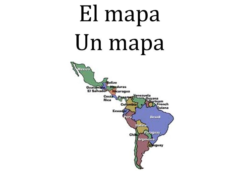 El mapa Un mapa