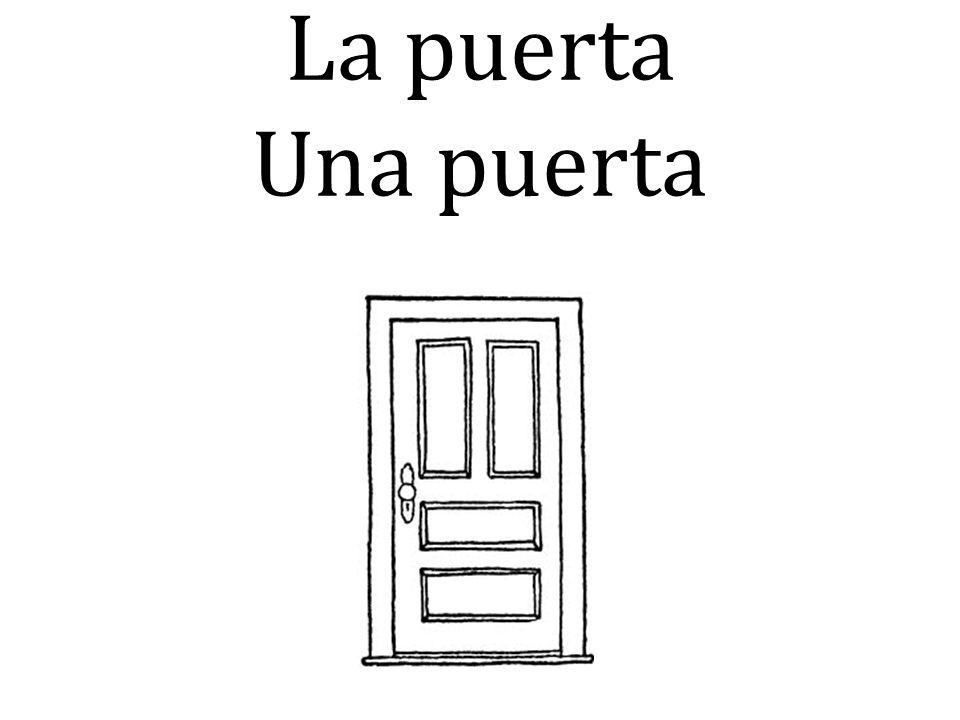 La puerta Una puerta
