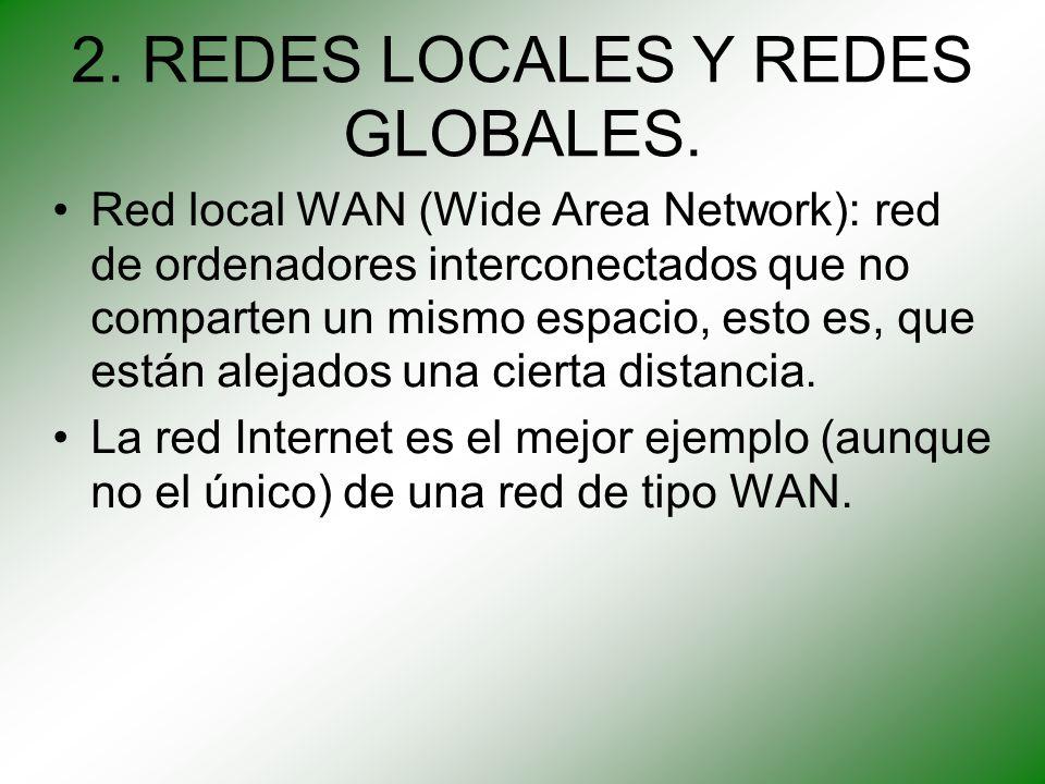 2. REDES LOCALES Y REDES GLOBALES.