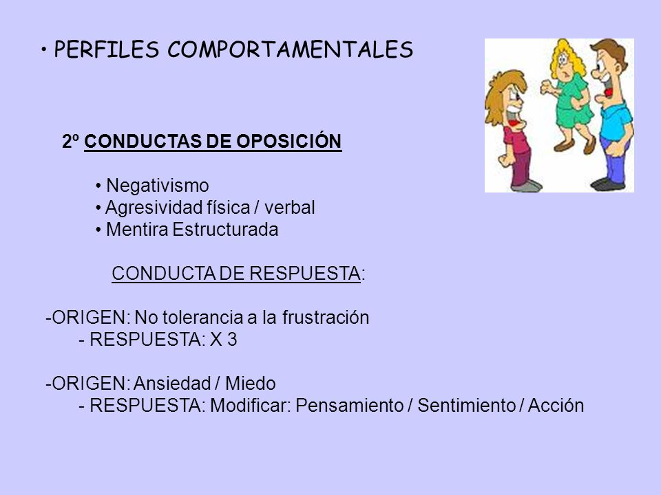 PERFILES COMPORTAMENTALES