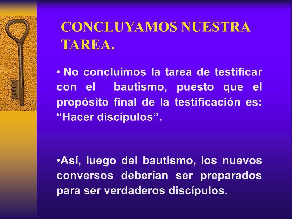 CONCLUYAMOS NUESTRA TAREA.