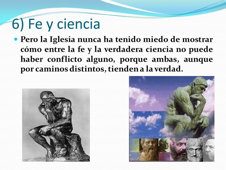 6) Fe y ciencia