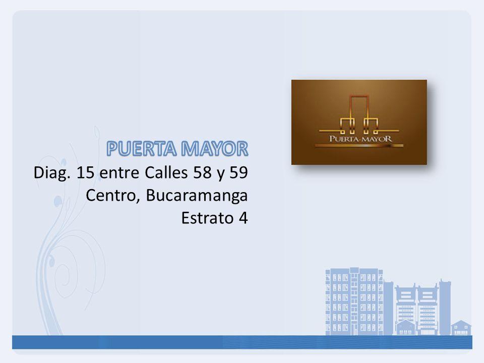 PUERTA MAYOR Diag. 15 entre Calles 58 y 59 Centro, Bucaramanga