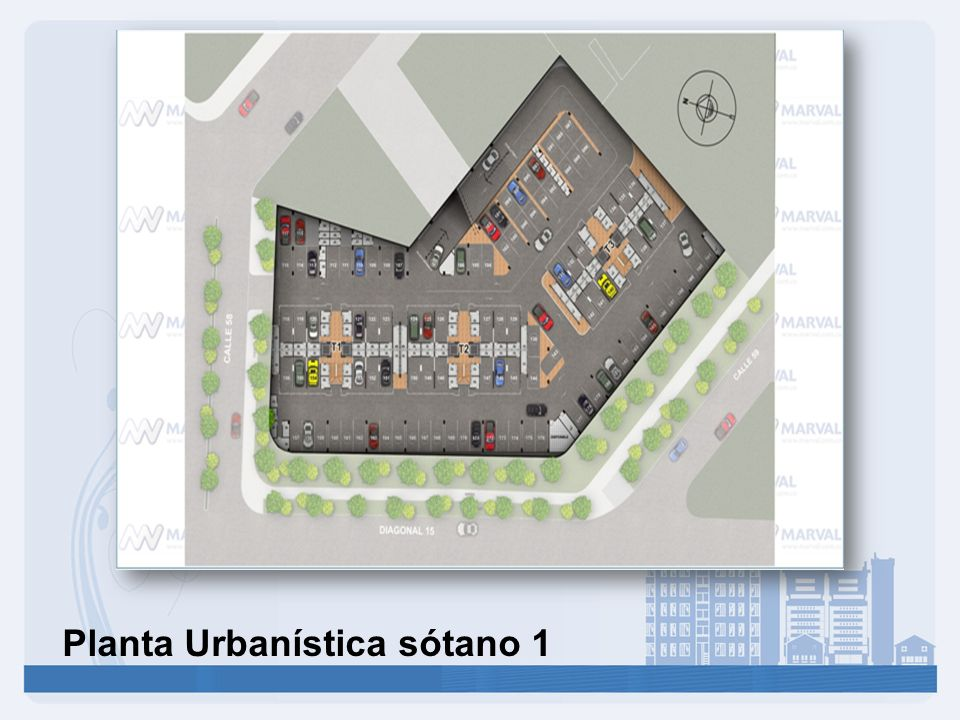 Planta Urbanística sótano 1
