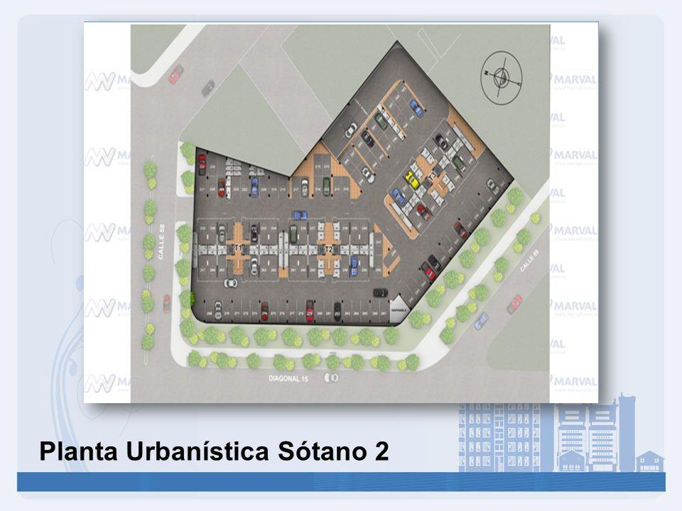 Planta Urbanística Sótano 2