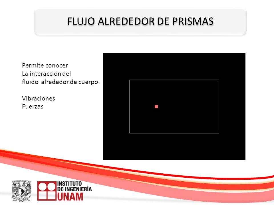 FLUJO ALREDEDOR DE PRISMAS