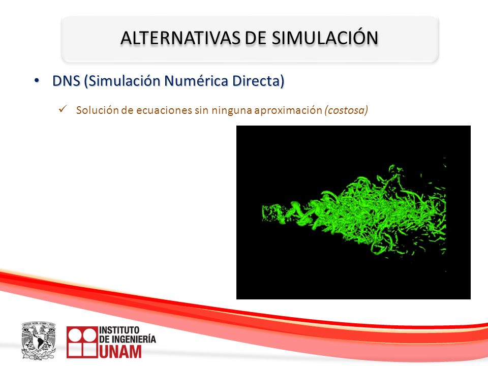 ALTERNATIVAS DE SIMULACIÓN