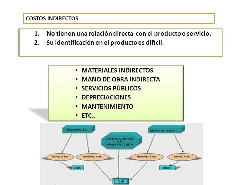 No tienen una relación directa con el producto o servicio.