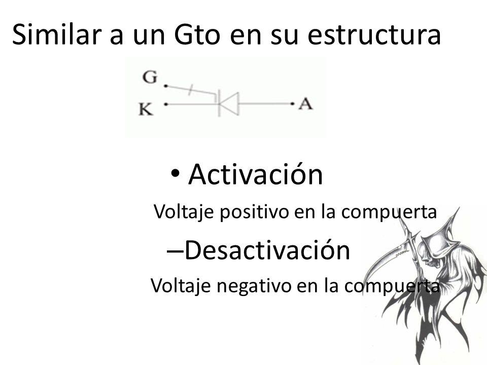 Similar a un Gto en su estructura