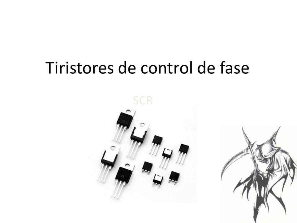 Tiristores de control de fase