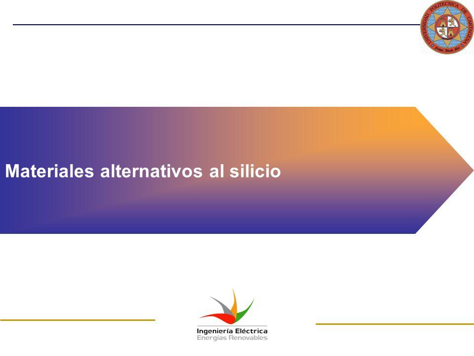 Materiales alternativos al silicio