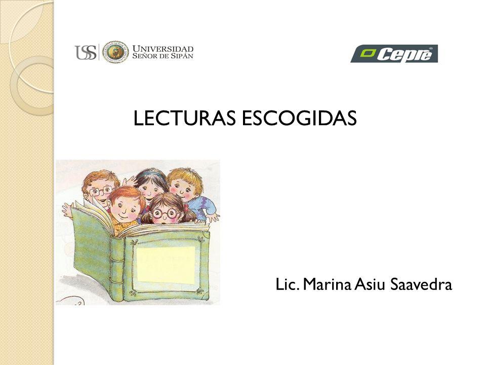 Lic. Marina Asiu Saavedra