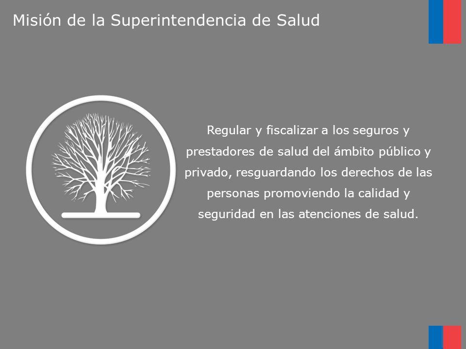 Misión de la Superintendencia de Salud