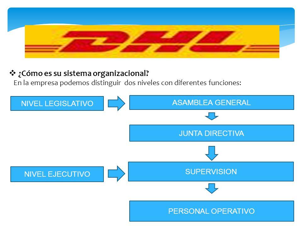 ¿Cómo es su sistema organizacional